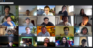 Celebrating our Nano students over Zoom