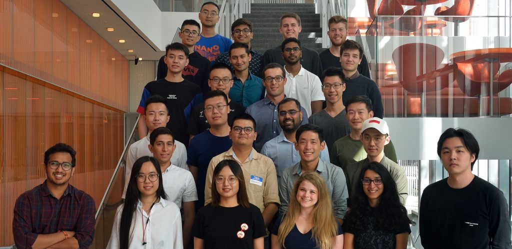 Nano Masters student group photo